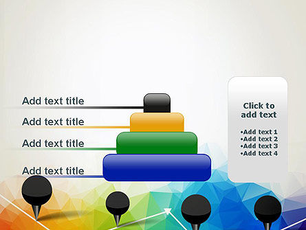 Checkpoints on Colored Background PowerPoint Template Slide 8