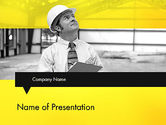 Careers/Industry: Risk Assessments PowerPoint Template #12717