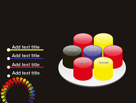 Color Spectrum PowerPoint Template Slide 12