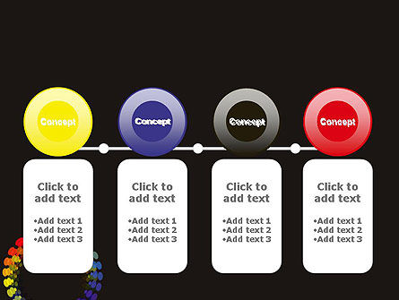 Color Spectrum PowerPoint Template Slide 5
