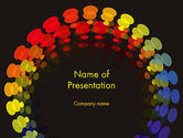 Abstract/Textures: Color Spectrum PowerPoint Template #12718