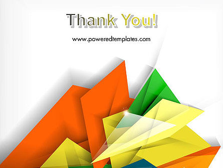 Abstract Origami Style PowerPoint Template Slide 20