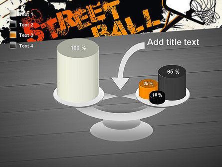 Street Basketball Graffiti PowerPoint Template Slide 10