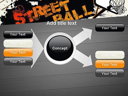 Street Basketball Graffiti PowerPoint Template Slide 14