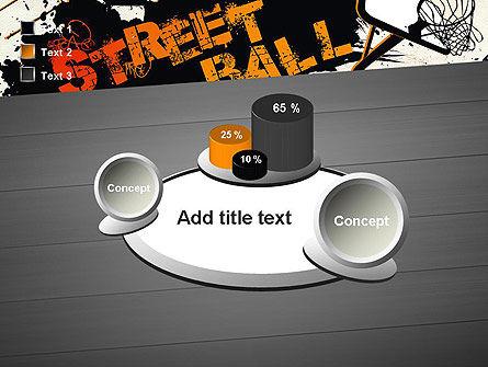 Street Basketball Graffiti PowerPoint Template Slide 16