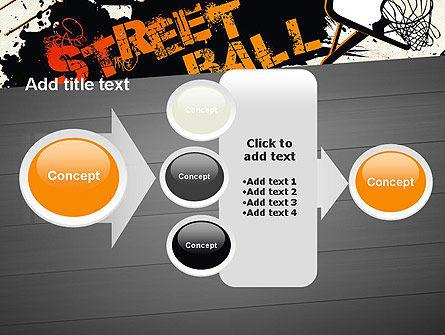 Street Basketball Graffiti PowerPoint Template Slide 17