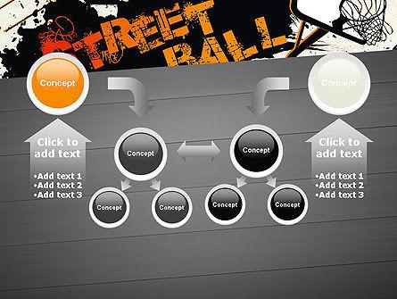 Street Basketball Graffiti PowerPoint Template Slide 19