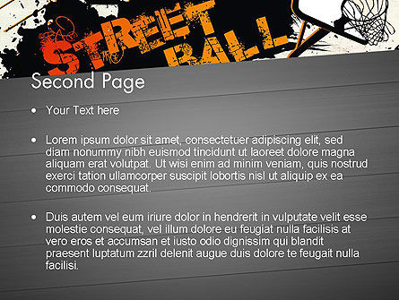 Street basketball graffiti powerpoint template backgrounds 12725 street basketball graffiti powerpoint template slide 2 12725 sports poweredtemplate toneelgroepblik Image collections