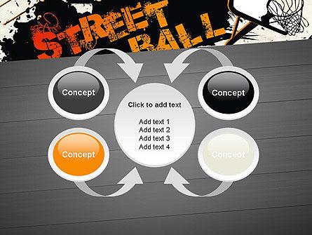 Street Basketball Graffiti PowerPoint Template Slide 6