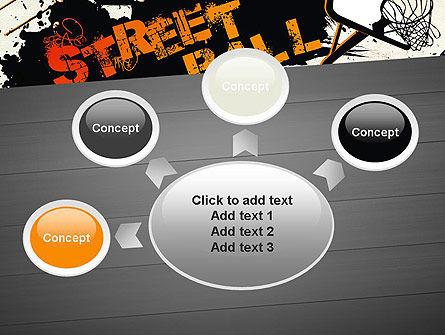 Street Basketball Graffiti PowerPoint Template Slide 7