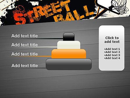 Street Basketball Graffiti PowerPoint Template Slide 8