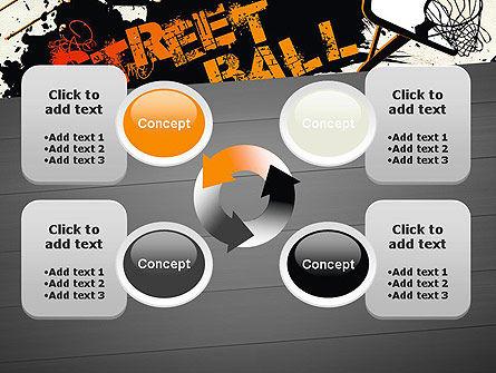 Street Basketball Graffiti PowerPoint Template Slide 9