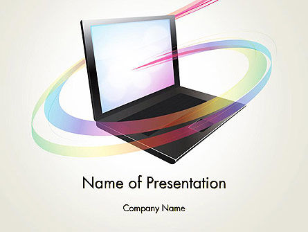 Education & Training: Online Learning PowerPoint Template #12726