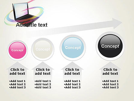 Online Learning PowerPoint Template Slide 13