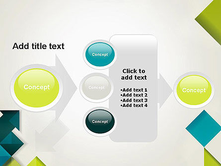 Arrows, Diamonds and Squares PowerPoint Template Slide 17