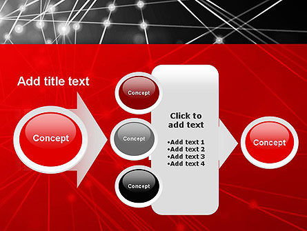 Abstract Network Community PowerPoint Template Slide 17