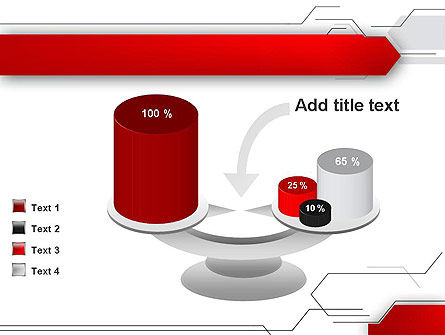 Abstract Thin Lines PowerPoint Template Slide 10