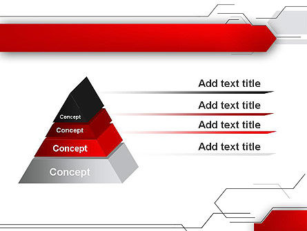 Abstract Thin Lines PowerPoint Template Slide 12