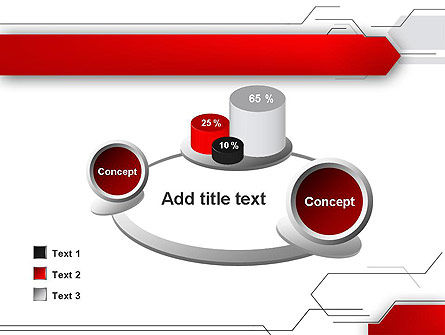 Abstract Thin Lines PowerPoint Template Slide 16