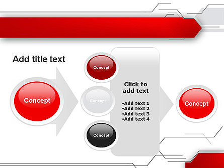 Abstract Thin Lines PowerPoint Template Slide 17