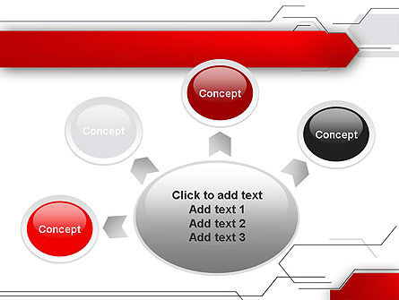 Abstract Thin Lines PowerPoint Template Slide 7