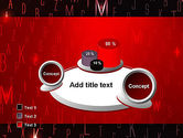 Red Letters on Black Background PowerPoint Template#6