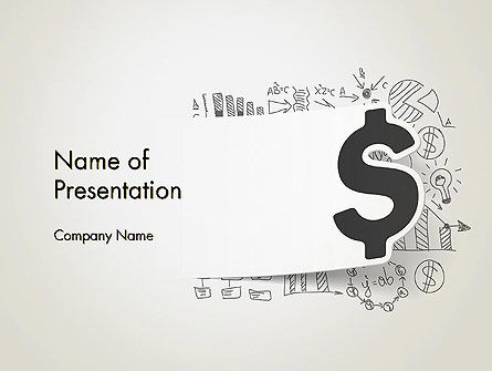 Financial/Accounting: Money Strategies PowerPoint Template #12739