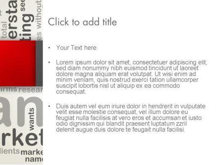 Brand Marketing Word Cloud PowerPoint Template, Slide 3, 12740, Careers/Industry — PoweredTemplate.com