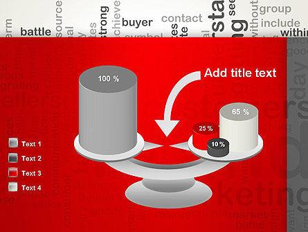 Brand Marketing Word Cloud PowerPoint Template Slide 10