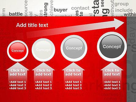 Brand Marketing Word Cloud PowerPoint Template Slide 13