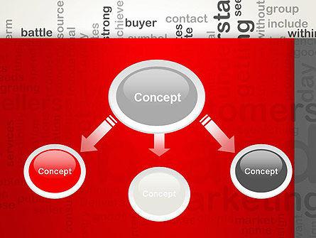 Brand Marketing Word Cloud PowerPoint Template Slide 4