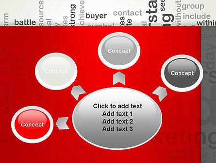 Brand Marketing Word Cloud PowerPoint Template Slide 7