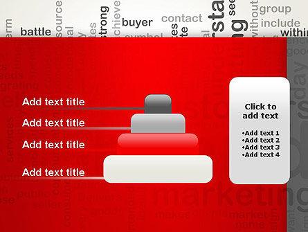 Brand Marketing Word Cloud PowerPoint Template Slide 8