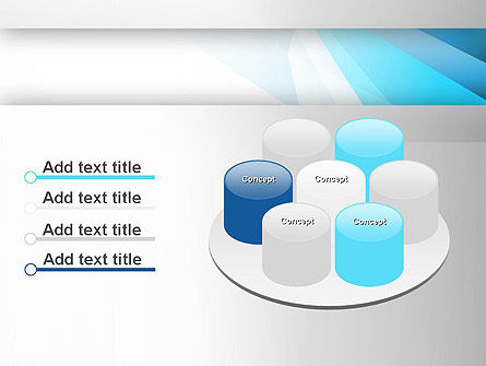 Light Abstract Geometric PowerPoint Template Slide 12