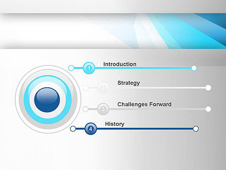 Light Abstract Geometric PowerPoint Template Slide 3