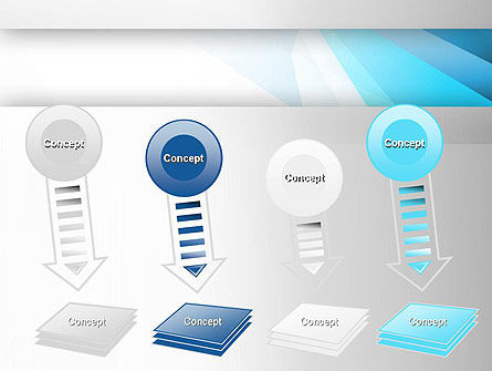 Light Abstract Geometric PowerPoint Template Slide 8
