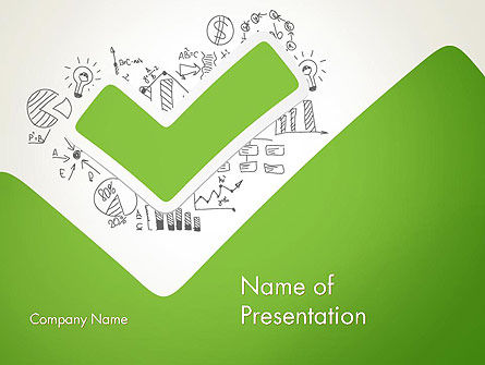 Business Concepts: Clever Business PowerPoint Template #12747