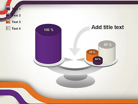 Abstract Diverge Lines PowerPoint Template Slide 10