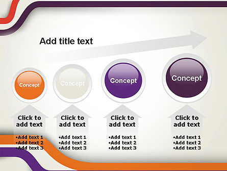 Abstract Diverge Lines PowerPoint Template Slide 13