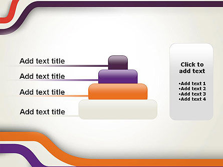 Abstract Diverge Lines PowerPoint Template Slide 8