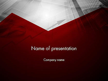 Finance Market PowerPoint Template, 12750, Financial/Accounting — PoweredTemplate.com