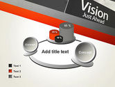 Vision Just Ahead Sign PowerPoint Template#16