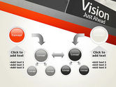 Vision Just Ahead Sign PowerPoint Template#19