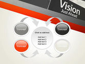 Vision Just Ahead Sign PowerPoint Template#6