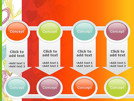 Positive Hearts PowerPoint Template Slide 18