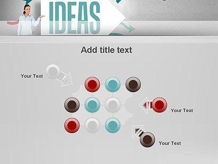 Ideas Presentation PowerPoint Template Slide 10