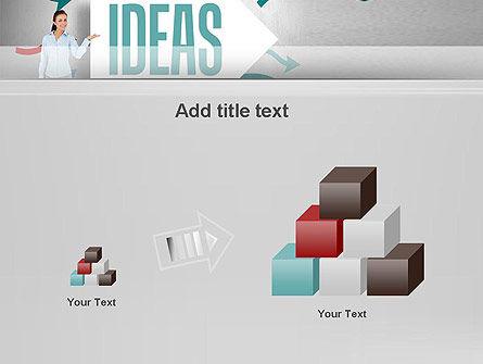 Ideas Presentation PowerPoint Template Slide 13