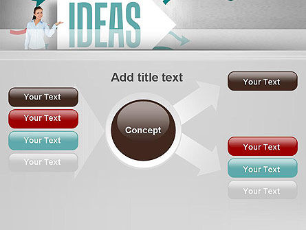 Ideas Presentation PowerPoint Template Slide 15