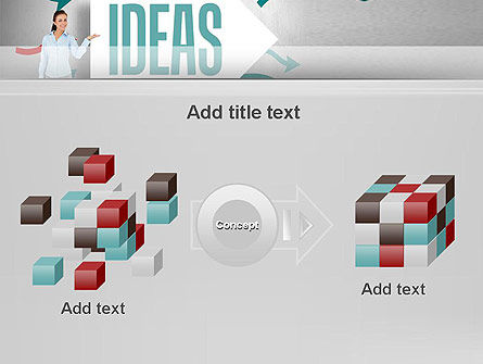 Ideas Presentation PowerPoint Template Slide 17