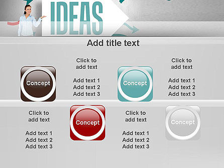 Ideas Presentation PowerPoint Template Slide 18